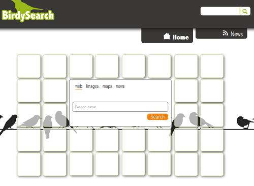 Birdysearch.com virus
