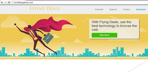 Flying-Deals ads