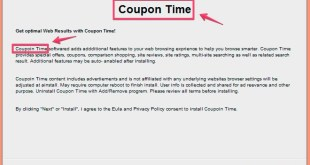 Coupon Time adware