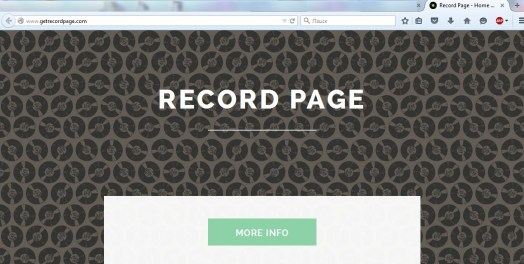 Record Page
