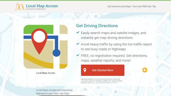 Local Maps Acces