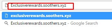 remove Exclusiverewards.soothers.xyz