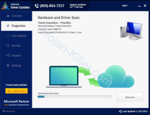 Get rid of Universal Driver Updater