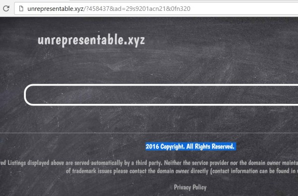 remove unrepresentable.xyz