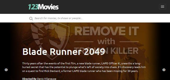remove 123Movies Search virus