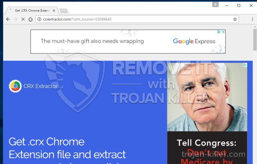 remove Crxextractor.com virus