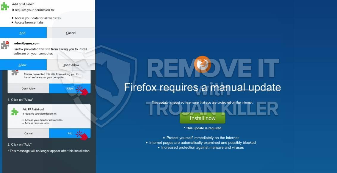 remove Split Tabs virus