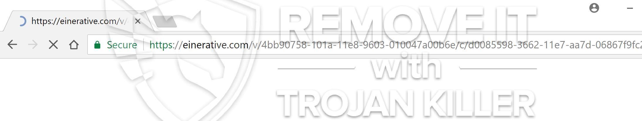 remove Einerative.com virus