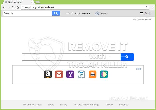 remove Search.hmyonlinecalendar.co virus