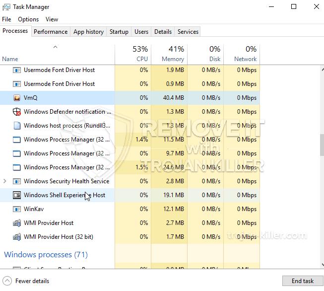 remove WinKavApp.exe virus