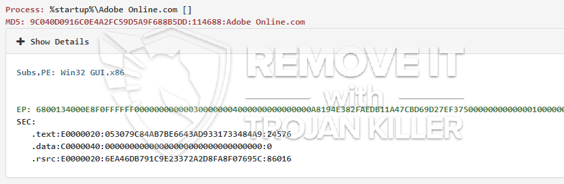 remove Adobe Online.com virus