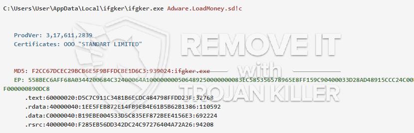 remove ifgker.exe virus