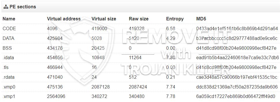 remove regdrv.exe virus