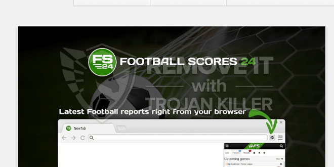 FootbalScores24 - Live football scores 24/7 extension