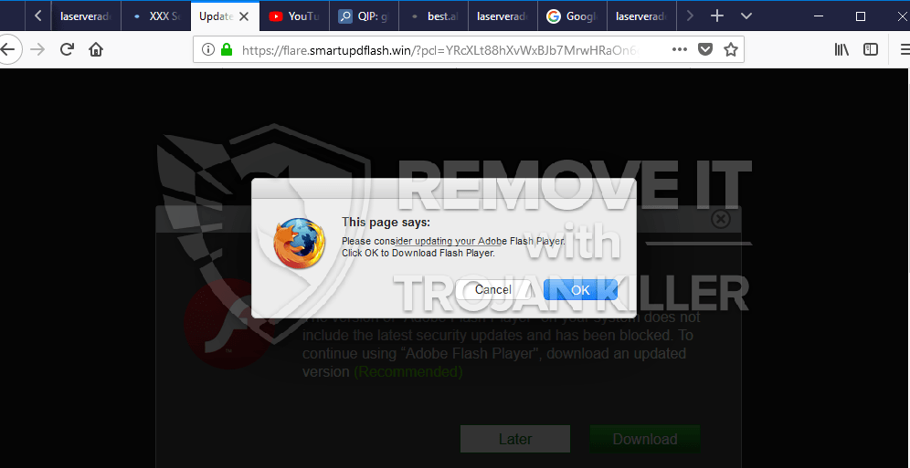 remove Flare.smartupdflash.win virus