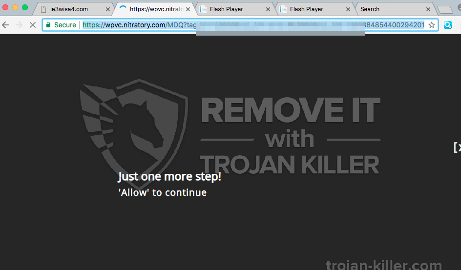 remove Nitratory.com virus