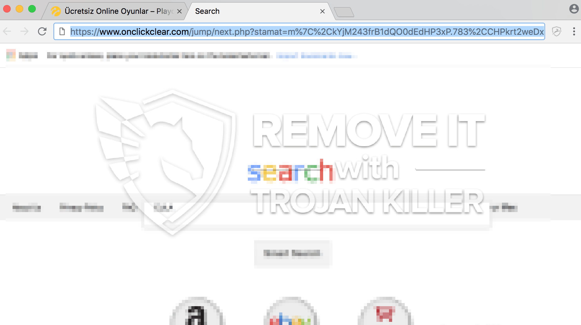 remove Onclickclear.com virus