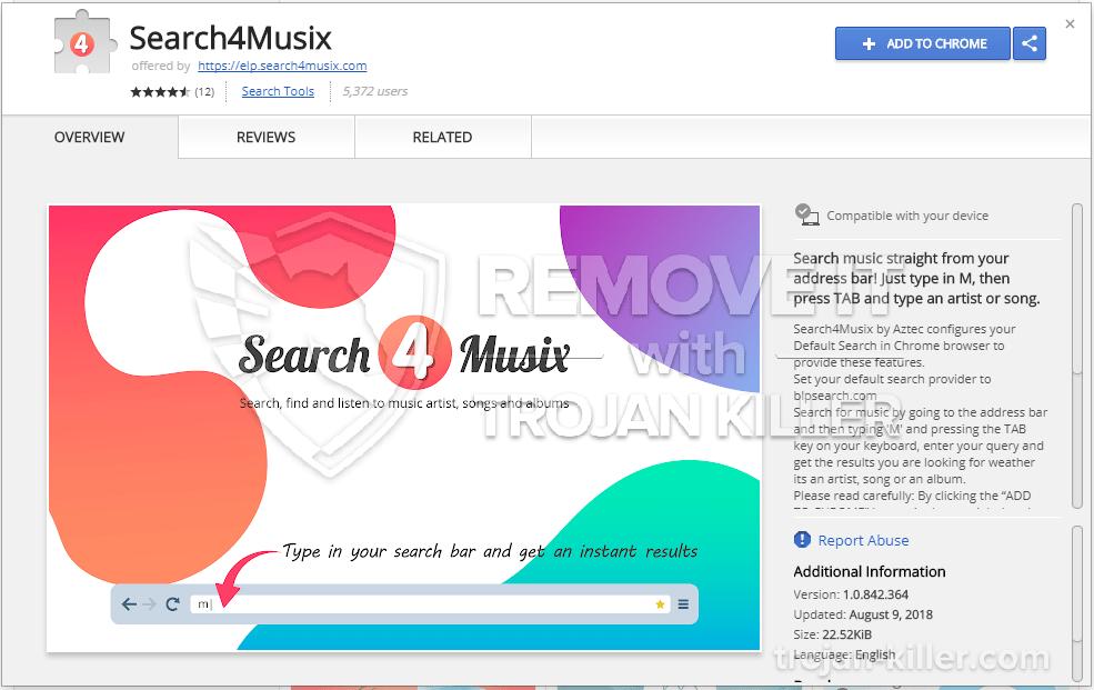 remove Search4musix.com virus