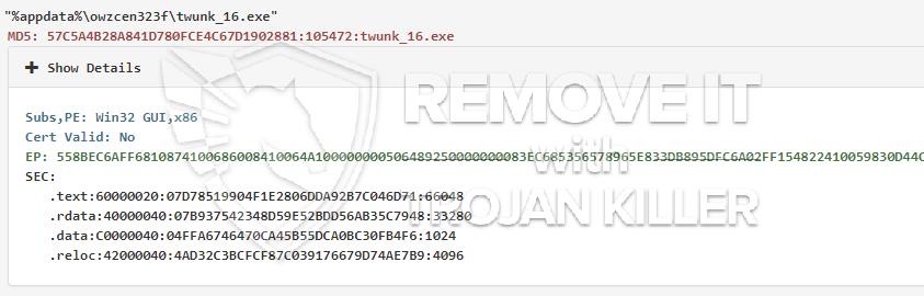 remove Twunk_16.exe virus