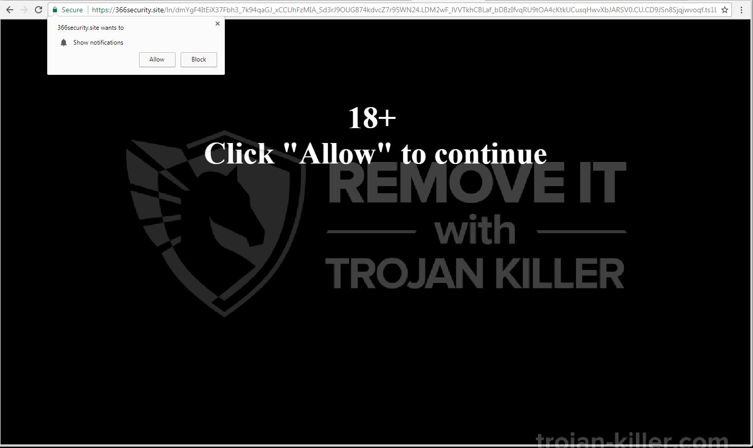 remove 366security.site virus