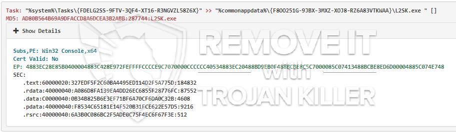 remove L2SK.exe virus
