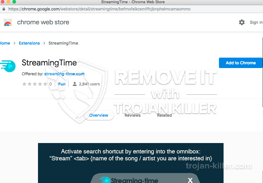 remove Streaming-time.com virus
