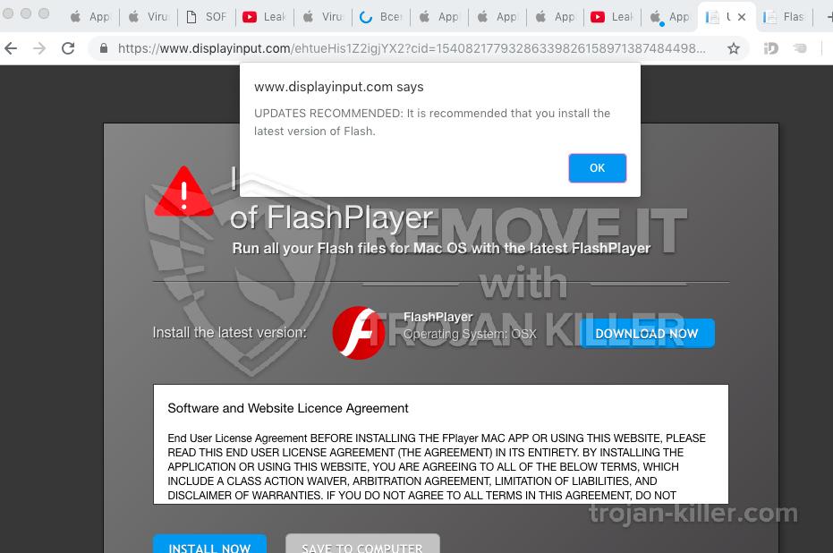 remove Displayinput.com virus