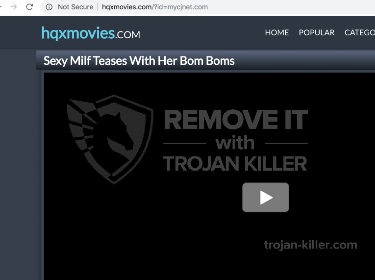 remove Hqxmovies.com virus