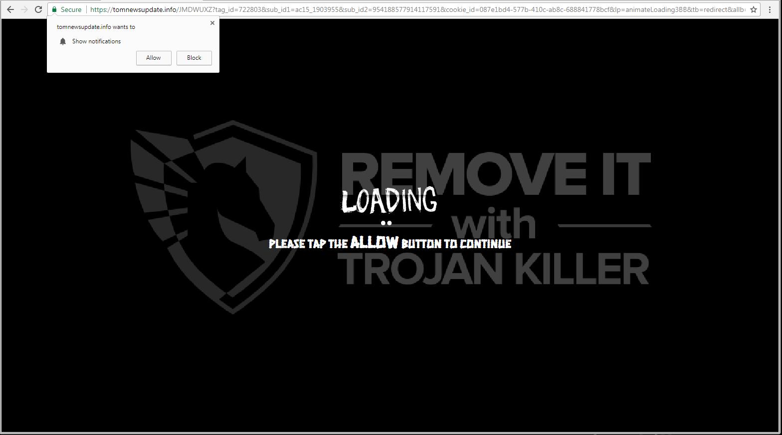 remove Tomnewsupdate.info virus