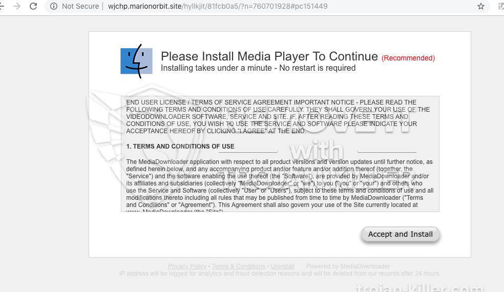 remove Marionorbit.site virus