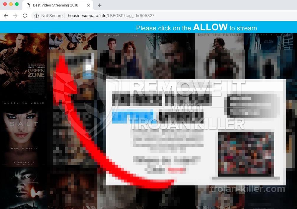 remove Housinesdepara.info virus