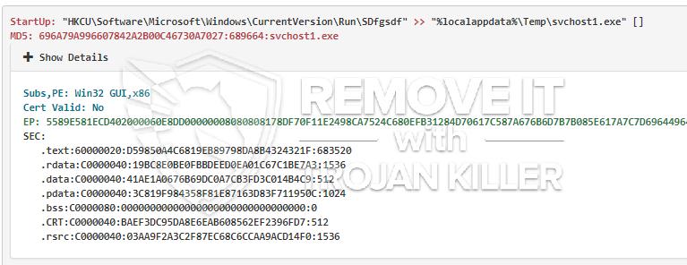remove Svchost1.exe virus