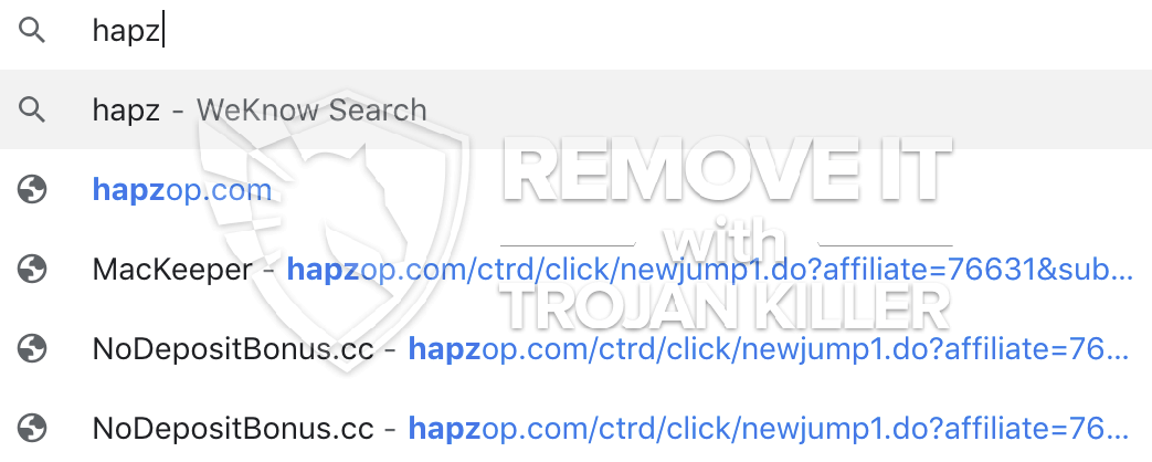 remove Hapzop.com/ctrd virus