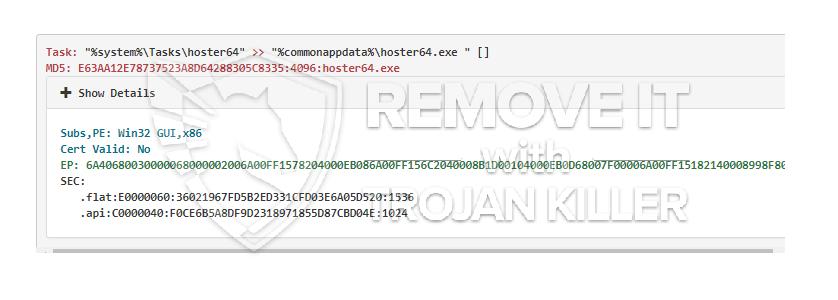 remove Hoster64.exe virus