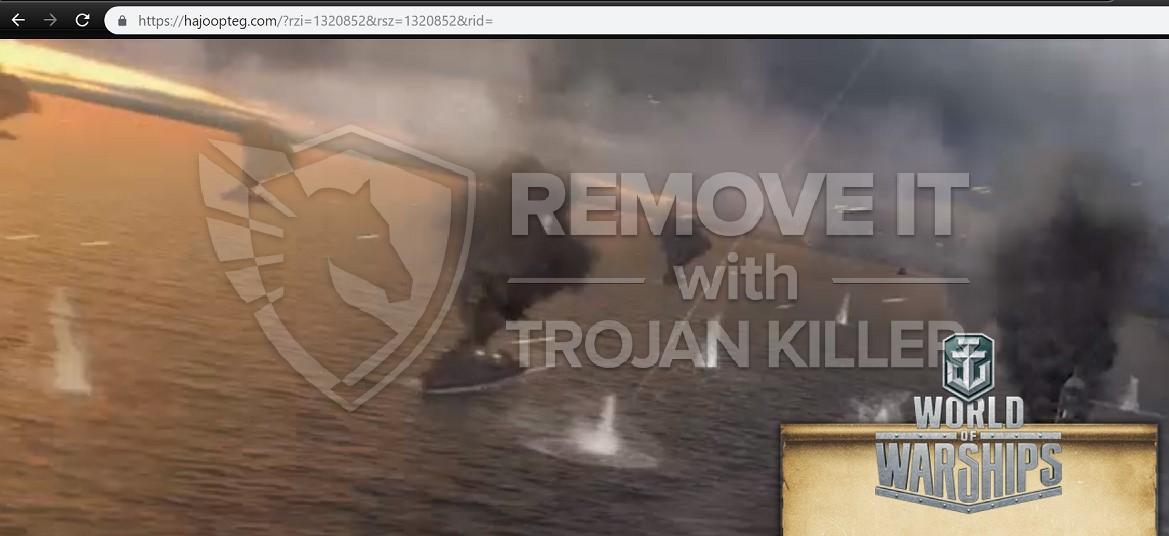 remove Hajoopteg.com virus
