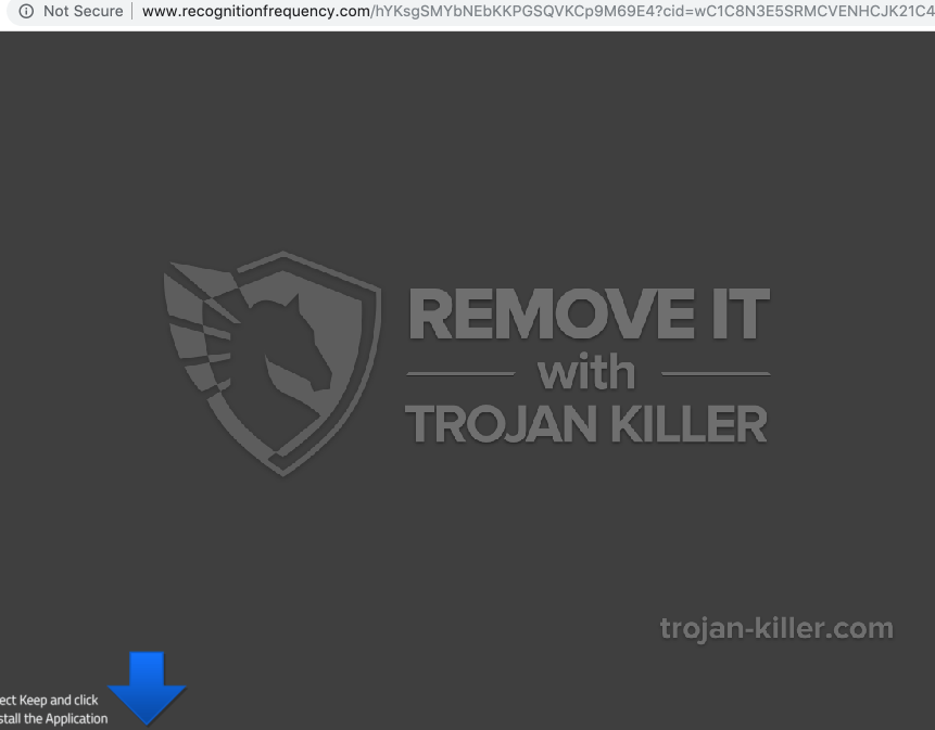 remove Recognitionfrequency.com virus