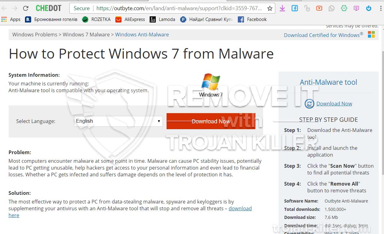 remove Outbyte.com virus