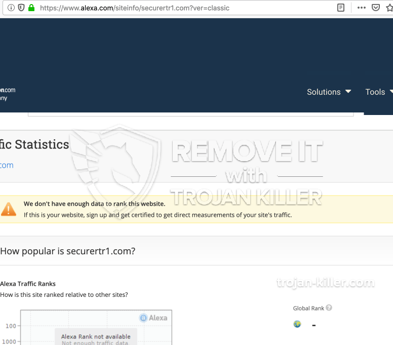 remove Securertr1.com virus