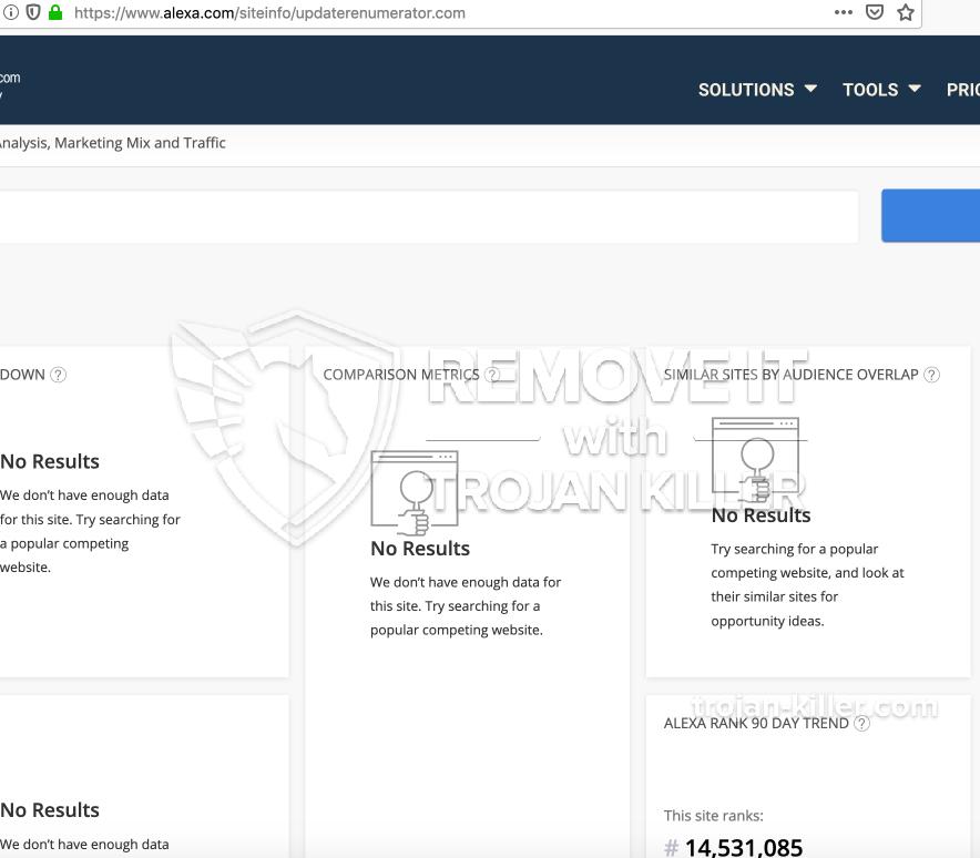remove Updaterenumerator.com virus