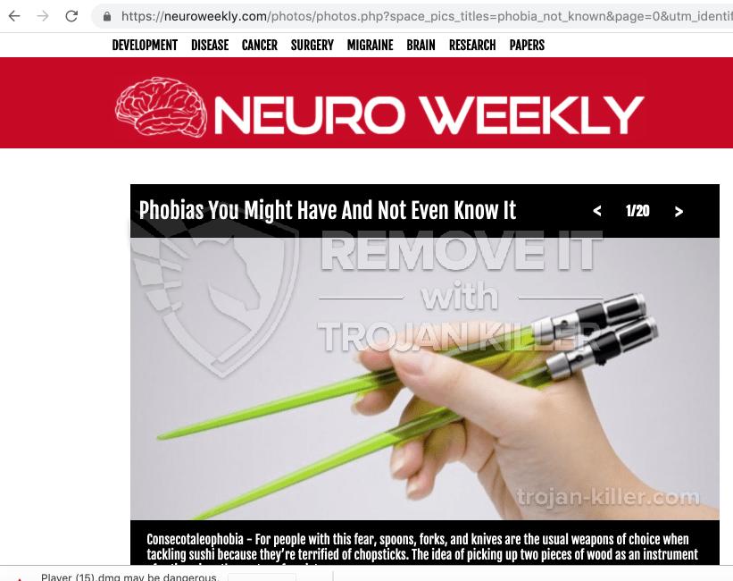 remove Neuroweekly.com virus