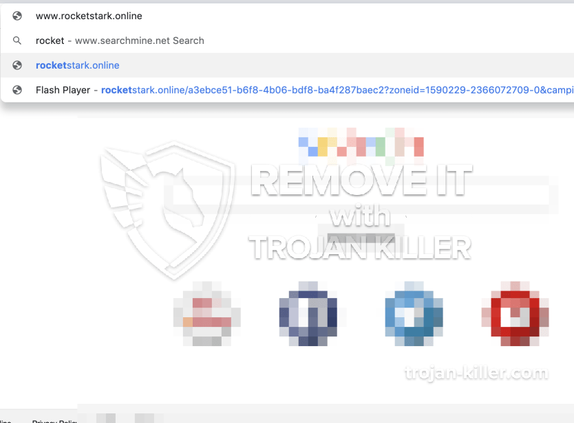 remove Rocketstark.online virus