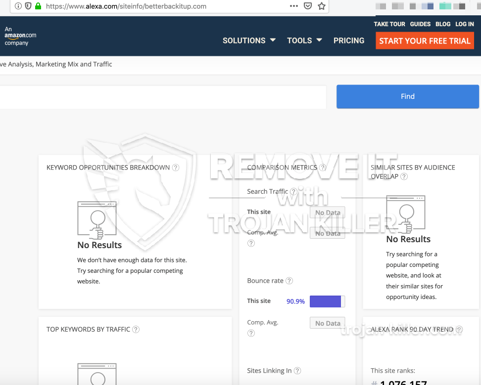 remove Betterbackitup.com virus