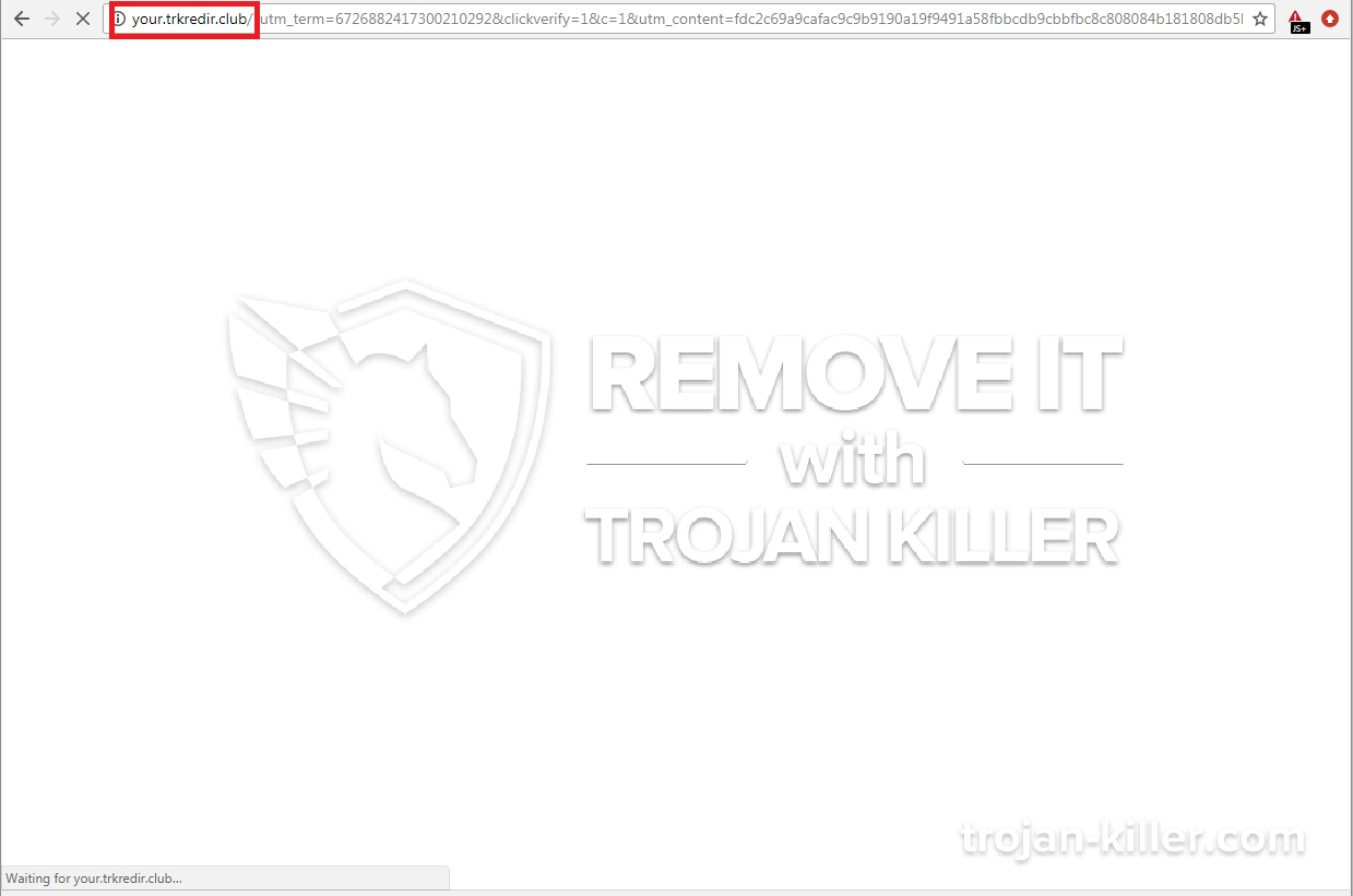 remove Trkredir.club virus