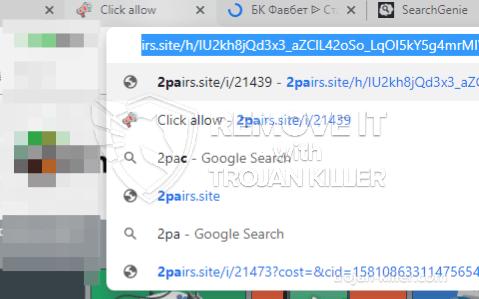 remove 2pairs.site virus