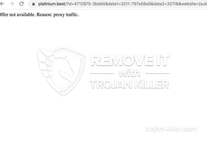 remove Platinium.best virus