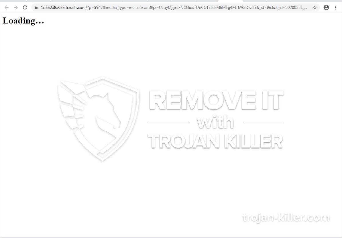 remove Tcredir.com virus