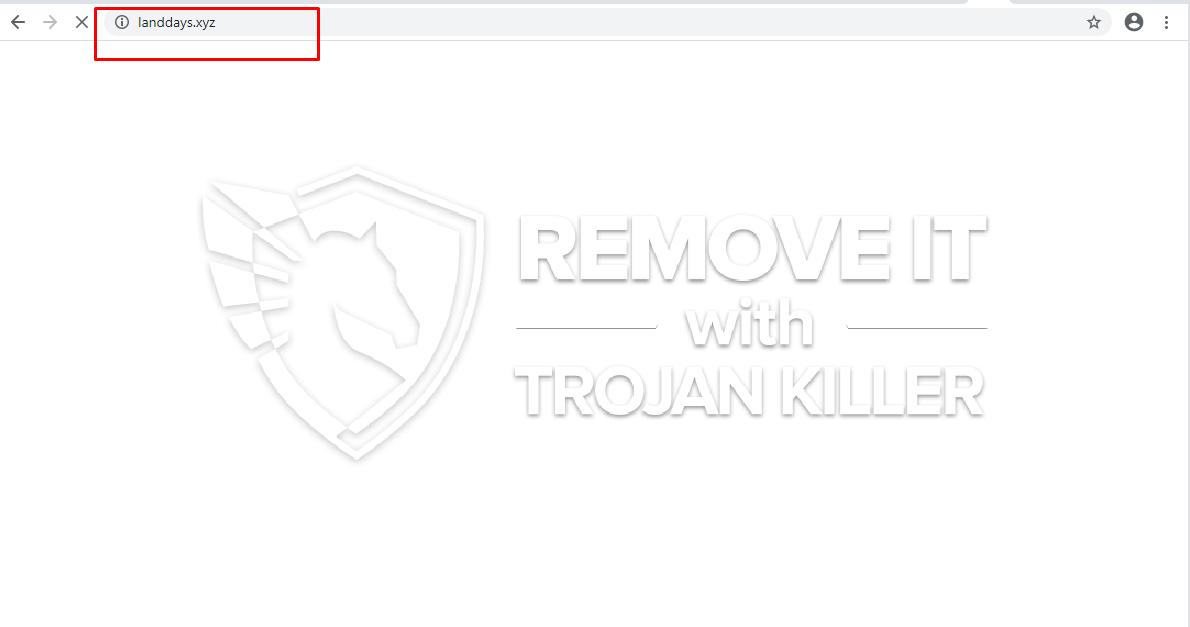 remove Landdays.xyz virus
