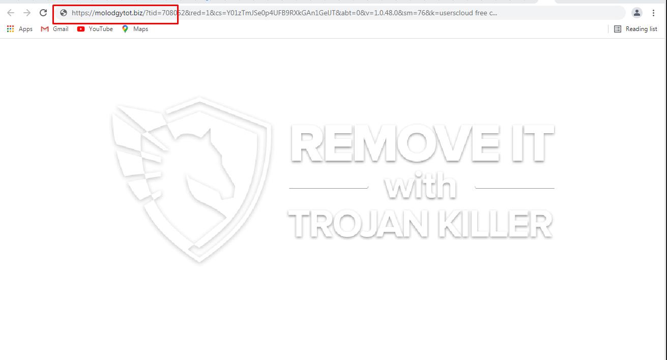 remove Molodgytot.biz virus