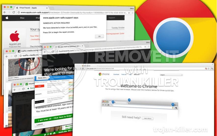 remove Effacerevealing.com virus