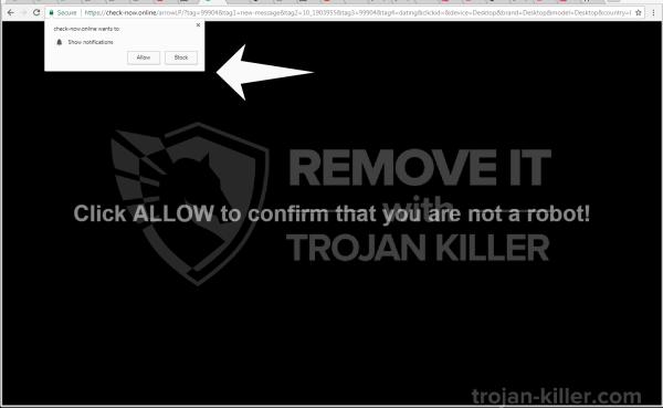 Check-now.online virus